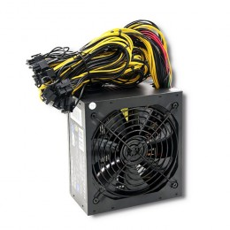 Qoltec ATX Power Supply 1250W | 80 Plus Gold | Gaming Miner