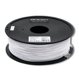 Qoltec Professional filament for 3D print | ABS PRO | 1,75 mm | 1 kg | Cold white