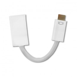 Qoltec Mini DVI adapter male | HDMI female