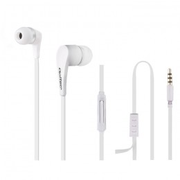 In-ear headphones with microphone | White