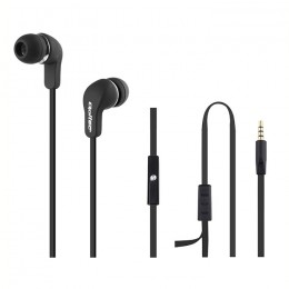In-ear headphones with microphone | Black