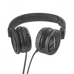 Headphones with microphone | + cable PC | Black