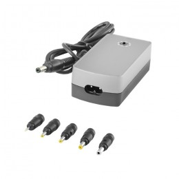 Universal power adapter 40W | 5 plugins | +power cable