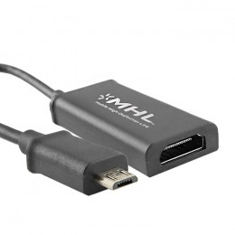 MHL adapter Micro USB B 5pin | HDMI | 0.17m