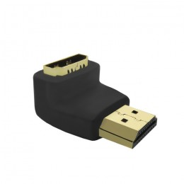 Qoltec HDMI adapter A male | HDMI A female | angle