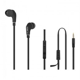 Premium in-ear headphones with microphone | Black