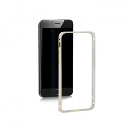 Bumper case for Apple iPhone 5/5s | silver | aluminum