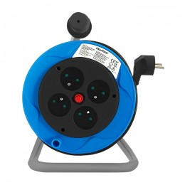 Cable reel | 4 socket | 15m