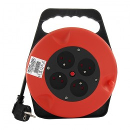 Cable reel | 4 socket | 10m