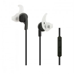 In-ear headphones wireless BT with microphone | Black