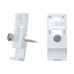 Qoltec Cable clip | 15x13mm | wall