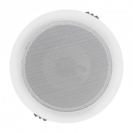 Two-way ceiling speaker | waterproof | RMS 6W | 16cm | 8 Ohm | TRAFO | white