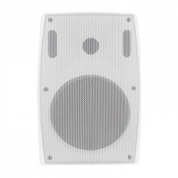 Two-way wall speaker RMS 20W | 21cm | 8 Ohm | TRAFO | white
