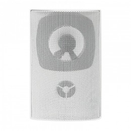 Two-way wall speaker RMS 10W | 15cm | 8 Ohm | TRAFO | white