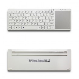 Wireless Touchpad keyboard | 2.4GHz | White