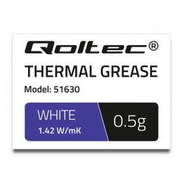 Thermal grease 1.42 W/m-K | 0.5g | white