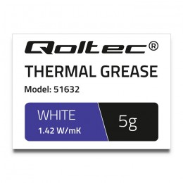 Thermal grease 1.42 W/m-K | 5g | white