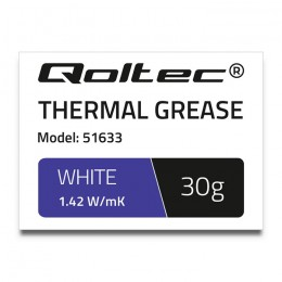 Thermal grease 1.42 W/m-K | 30g | white