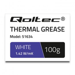 Thermal grease 1.42 W/m-K | 100g | white