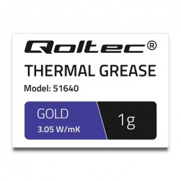 Thermal grease 3.05 W/m-K | 1g | gold