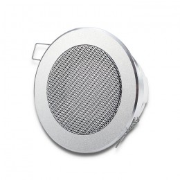 Ceiling speaker | waterproof | RMS 15W | 8 Om | Silver