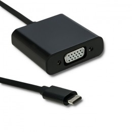 Qoltec USB 3.1 adapter  type C male / VGA female | 1080P | 23cm