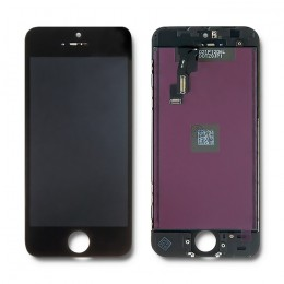 LCD display touchscreen for iPhone 5C | black frame