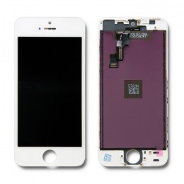 LCD display touchscreen for iPhone 5S/SE | white frame