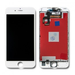 LCD display touchscreen for iPhone 6S | white frame