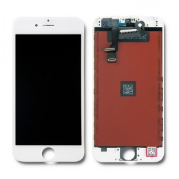 LCD display touchscreen for iPhone 6 | white frame