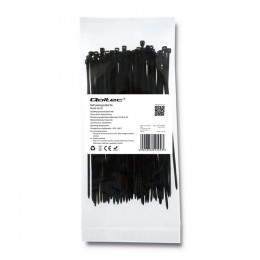 Self-locking cable tie | 2.5*150mm | Nylon UV | Black
