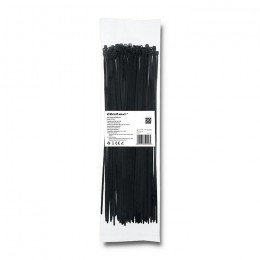 Self-locking cable tie | 3.6*300mm | Nylon UV | Black
