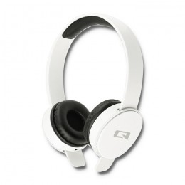 Headphones with microphone | White