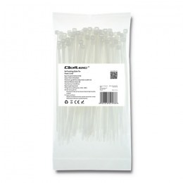 Self-locking cable tie | 3.6*150mm | Nylon UV | White