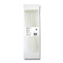 Self-locking cable tie | 3.6*300mm | Nylon UV | White