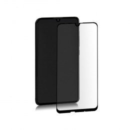 Premium hybrid glass screen protector for Huawei P Smart 2019 | BLACK | Fullcover