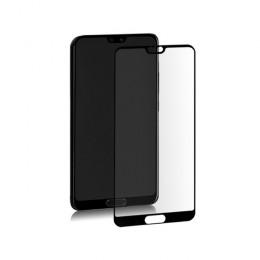 Premium hybrid glass screen protector for Huawei P20 | BLACK | Fullcover