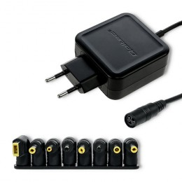 Qoltec Universal power adapter 45W | 8 plugins