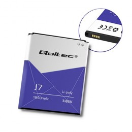 Qoltec Battery for Samsung Galaxy J7 | 1850mAh