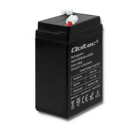 Qoltec AGM battery | 6V | 4.5Ah | max. 67.5A