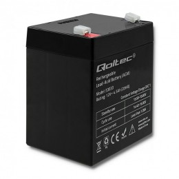 Qoltec AGM battery | 12V | 4.5Ah | max 67.5A