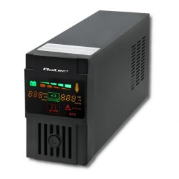 Qoltec Uninterruptible Power Supply | Monolith | 800VA | 480W | LCD | USB