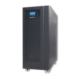 Qoltec Uninterruptible Power Supply | On-line | Pure Sine Wave | 10kVA | 8kW | LCD | USB