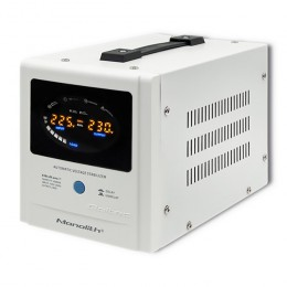 Qoltec Automatic Voltage Stabilizer AVR | 1000VA