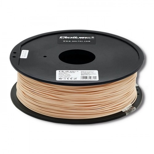 Qoltec Professional filament for 3D print | ABS PRO | 1,75 mm | 1 kg | Skin